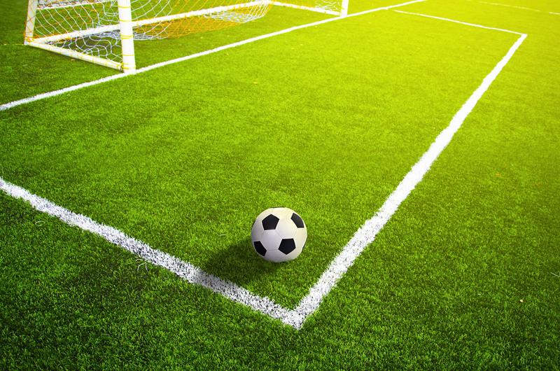 ゴール前とボール