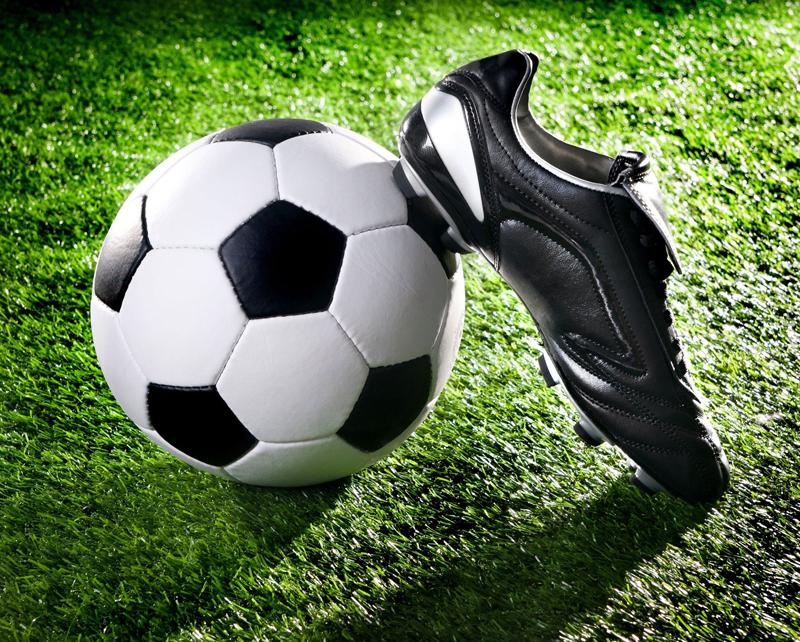 ボールと靴